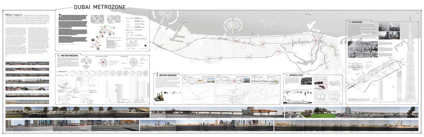 SSG Stadtforschung Dubai Metrozone