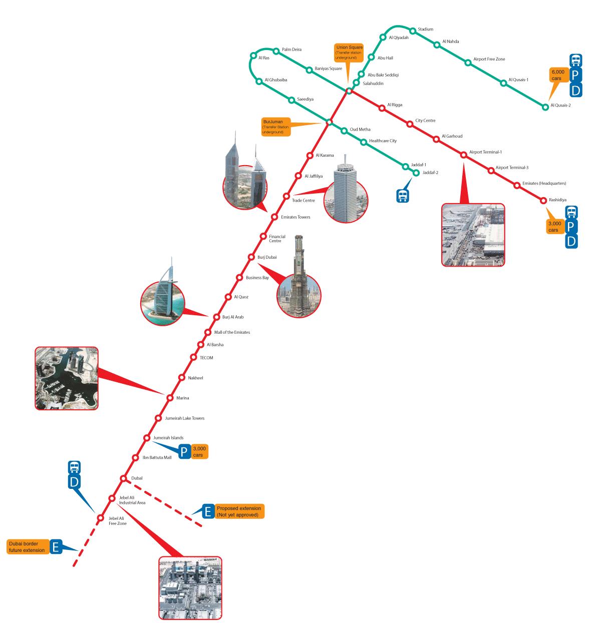 SSG Dubai Metrozone